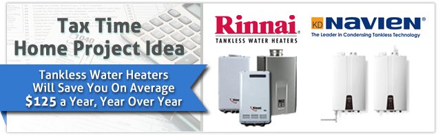Tankless Water Heaters Tax Image 636 x 200